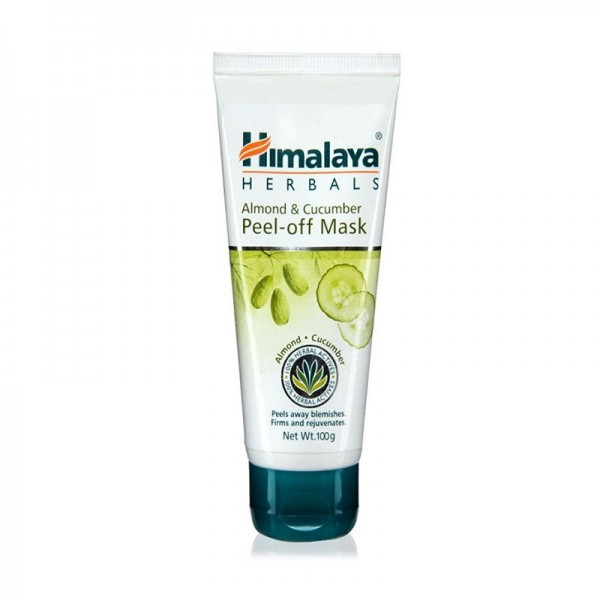 Himalaya Ayurvedic Cucumber and Almond Peel-off Mask (100 grams)