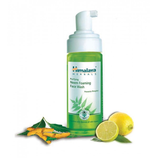 Himalaya Ayurvedic Oil Clear Lemon Foaming Face Wash (150 ml)