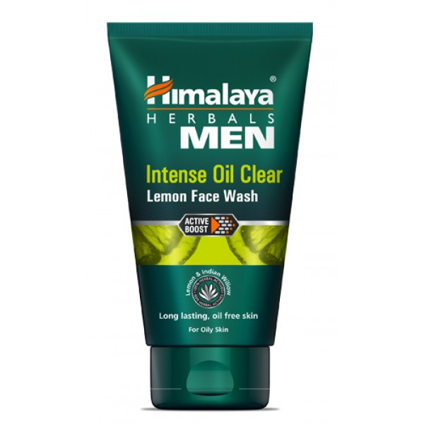 Himalaya Men Intense Oil Clear Lemon Face Wash (100 ml)