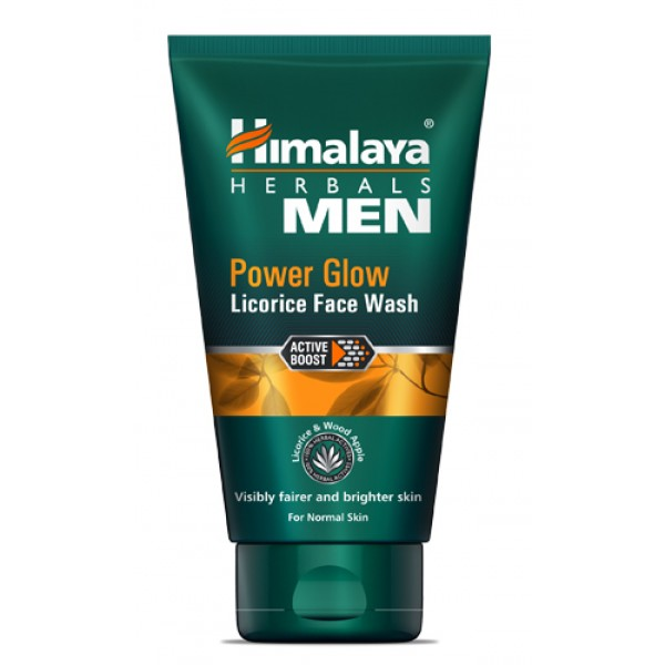 Himalaya Men Power Glow Licorice Face Wash (100 ml)