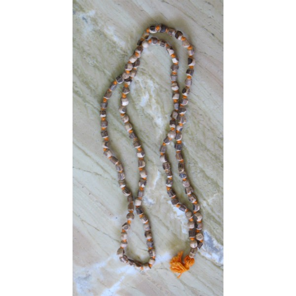 Tulasi Japa Mala, 35 Inches; (Tiny Rough Beads)