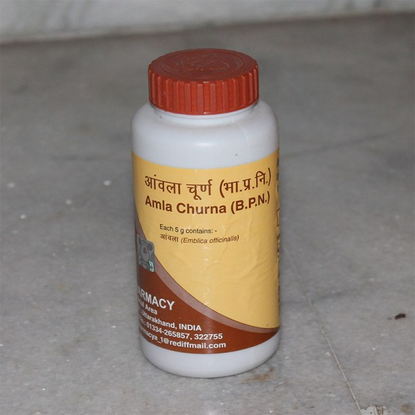 Divya Amla Churna (for Eyes, Digestion and General Health); 100 grams