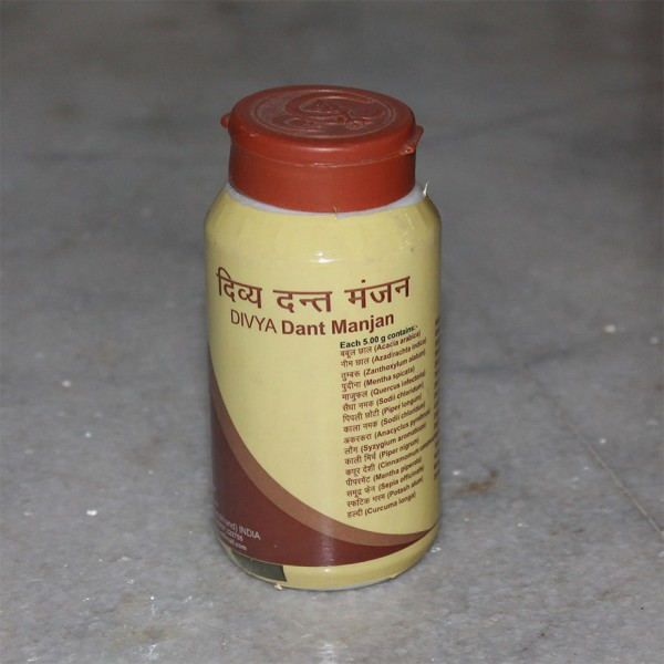 Divya Dant Manjan (Tooth Powder); 100 grams