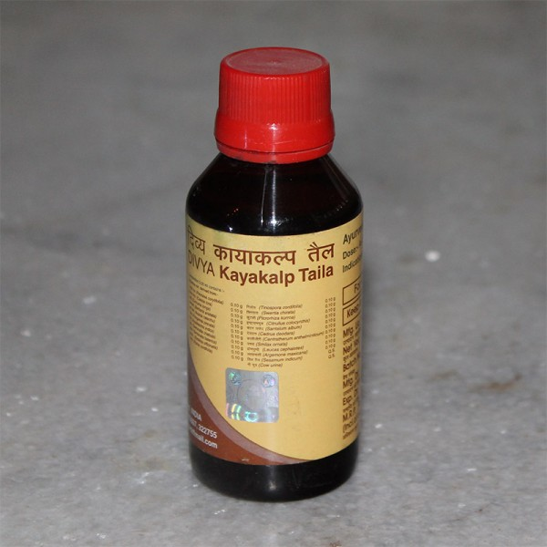 Divya Kayakalp Tail (Oil for Skin Problems, Cracks and Burns); 100 ml