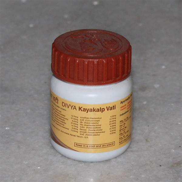 Divya Kayakalp Vati (for Skin Disease, Acne and Pimples); 40 grams