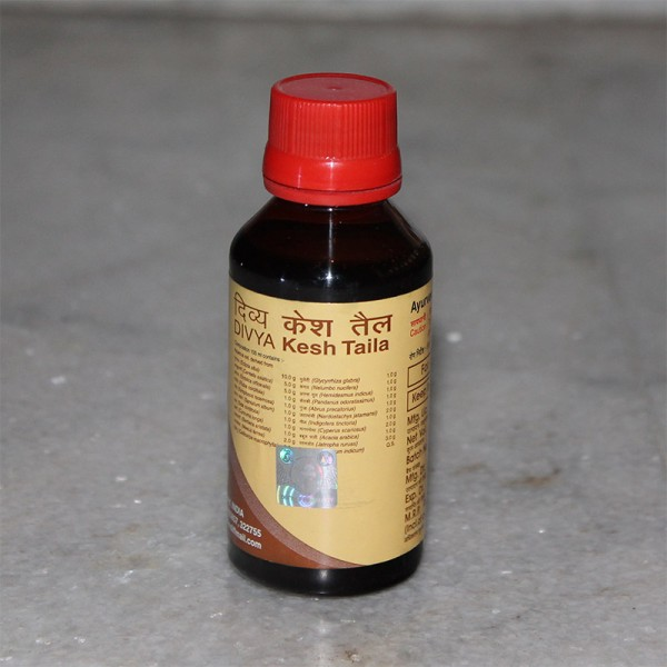 Divya Kesh Tail (Hair Oil for Hair Loss, Dandruff and Headache); 100 ml