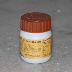 Divya Medha Vati (for Memory Loss and Improving Intelligence); 40 grams