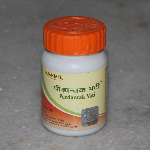 Divya Peedantak Vati (for Joint Pain and Arthritis); 40 grams
