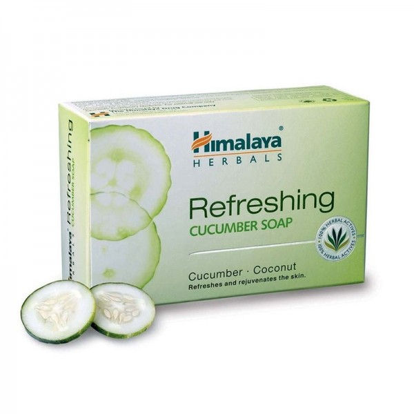 Himalaya Ayurvedic Refreshing Cucumber and Coconut Soap